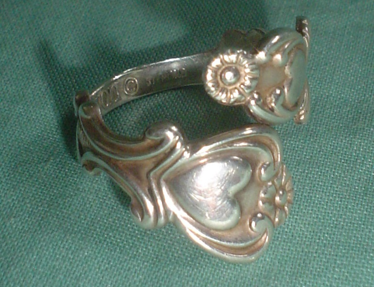 Vintage Avon Sterling Silver Rings The Silver Snake